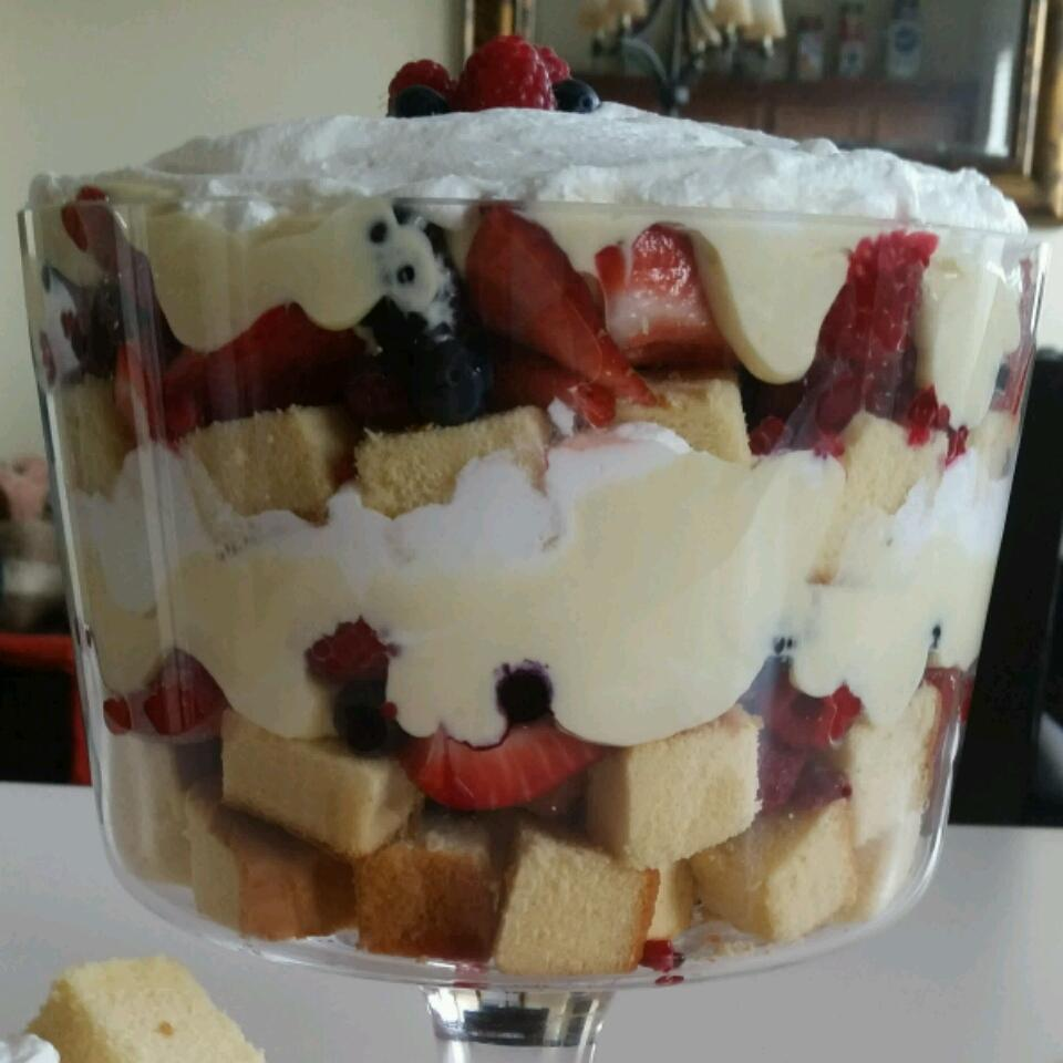 Berry Trifle IRON CHEF