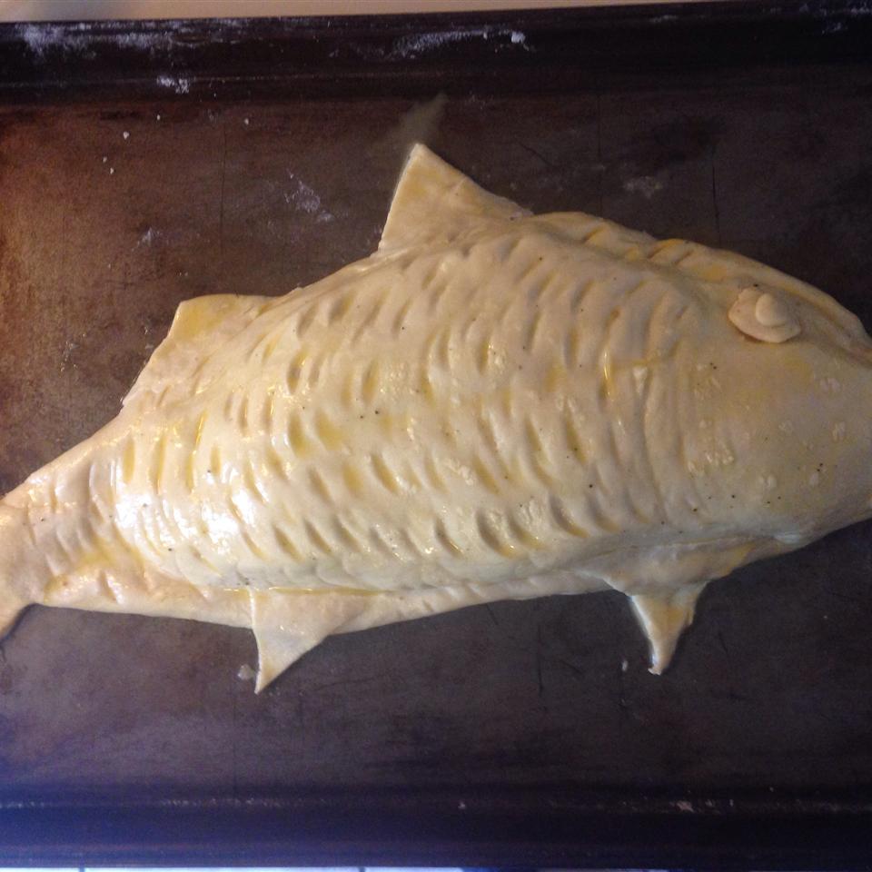 Stuffed Fish in Puff Pastry david j