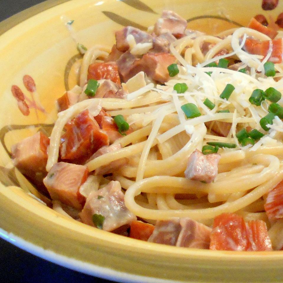 Easy Smoked Salmon Pasta Rosie Liao