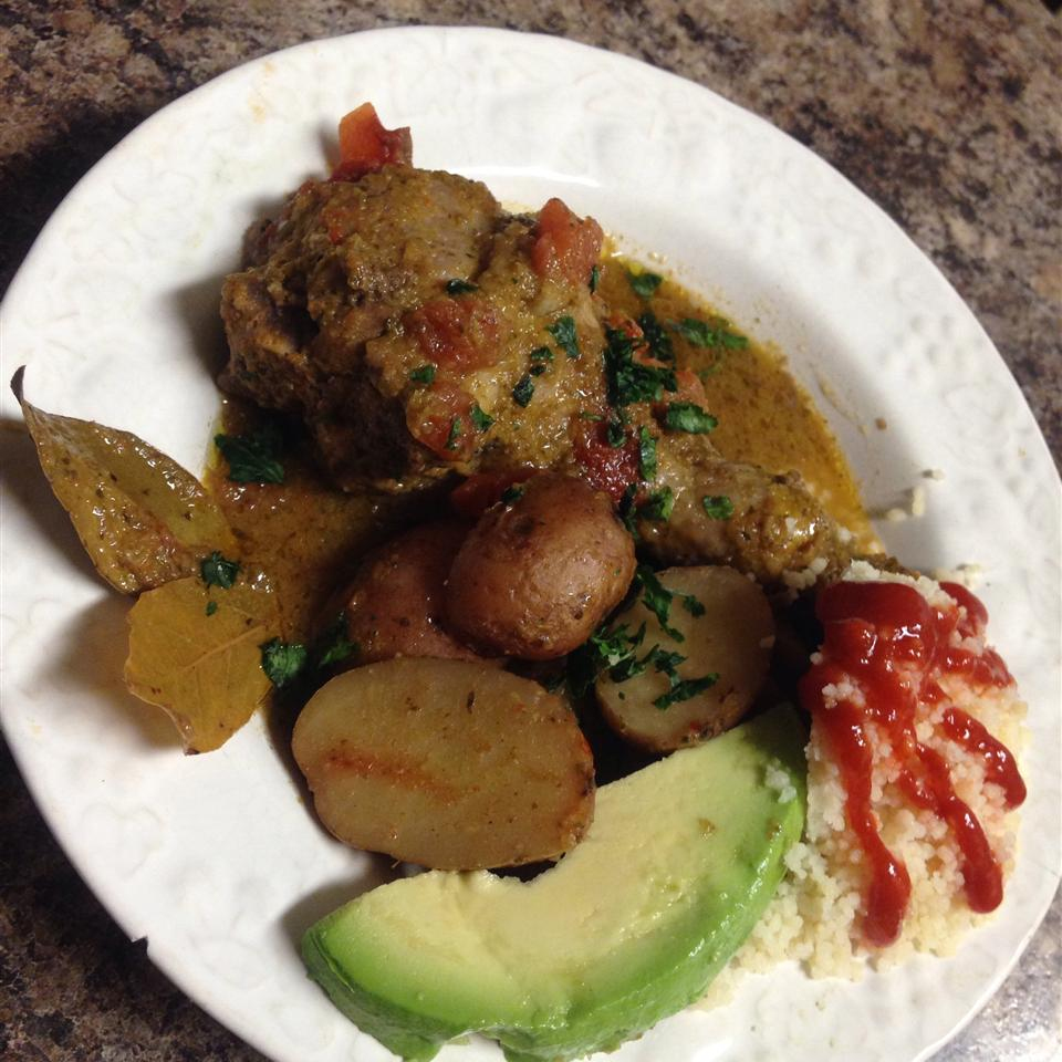 Pollo (Chicken) Fricassee from Puerto Rico