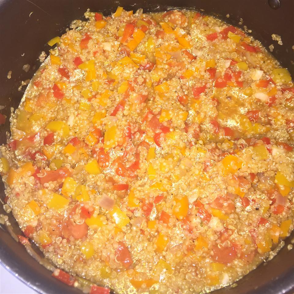 Mediterranean Quinoa KayNicole