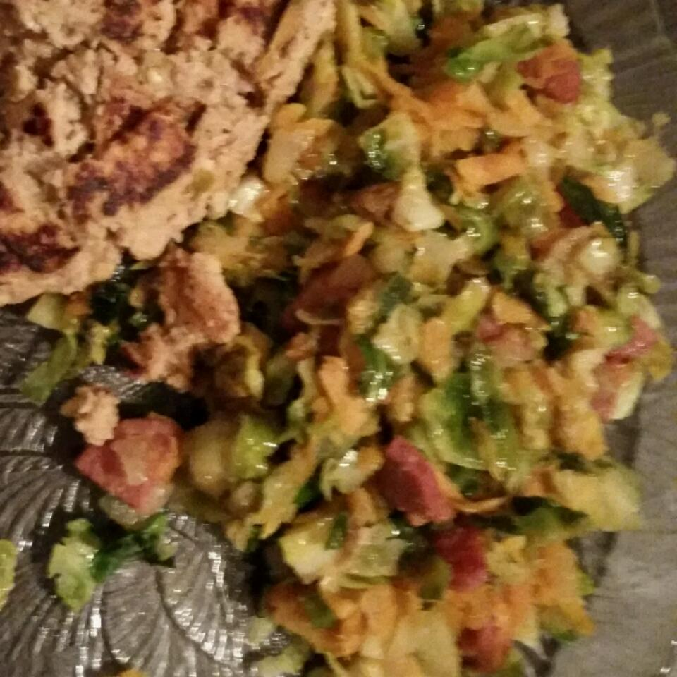 Brussels Sprout Hash jessie
