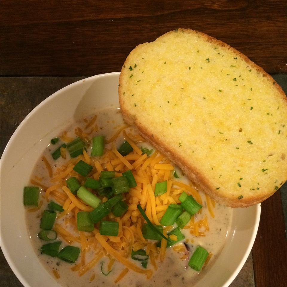 Slow Cooker, Easy Baked Potato Soup