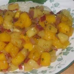 Warm Mango Salsa Matt Grifo