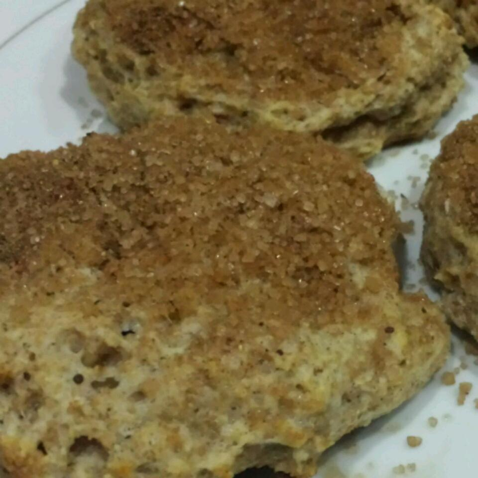 Cinnamon-Raisin Yogurt Biscuits