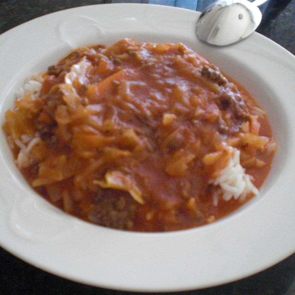 Passover Unstuffed Cabbage Soup the4taals