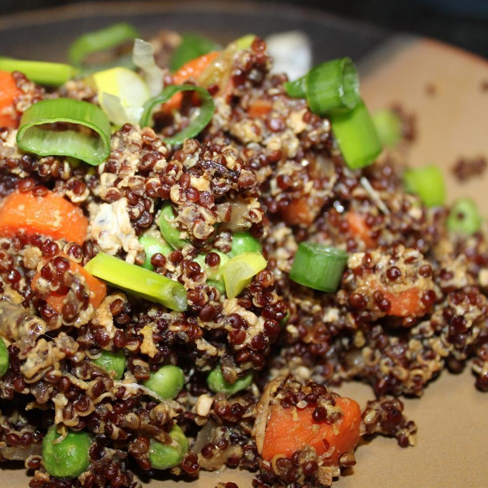 Quinoa Fried Rice mommyluvs2cook