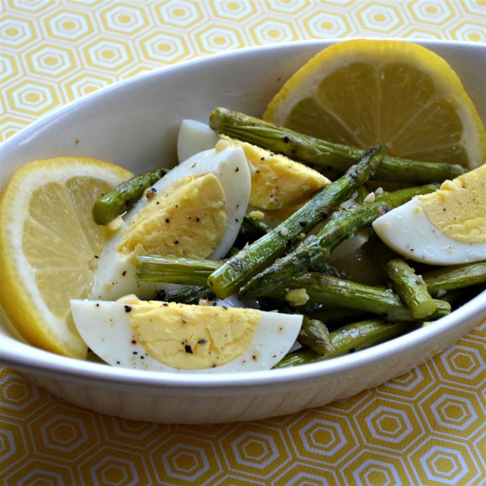 Eggy Asparagus Salad