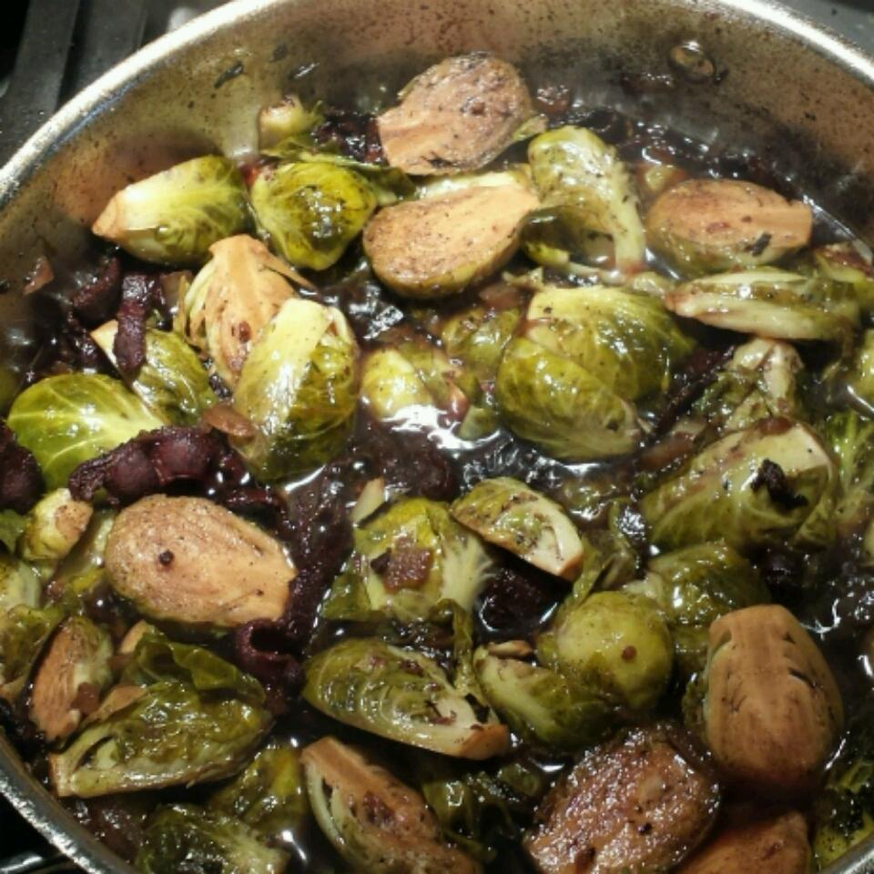 Bella's Brussels Sprouts with Bacon marciamichele