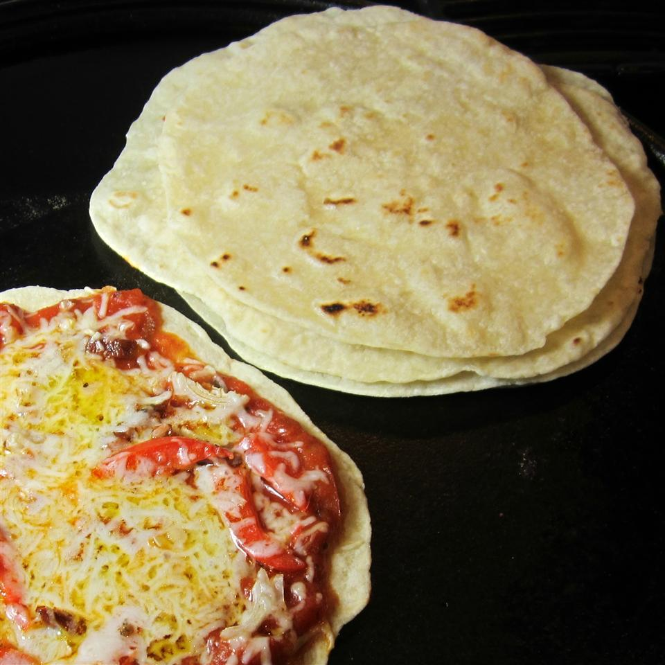 Ideal as a sandwich wrap, pizza crust, or stand-alone side, this no-yeast flatbread can be cooked in a skillet or on the grill. Plenty of garlic and butter make the texture and the taste worthy of its five-star rating.