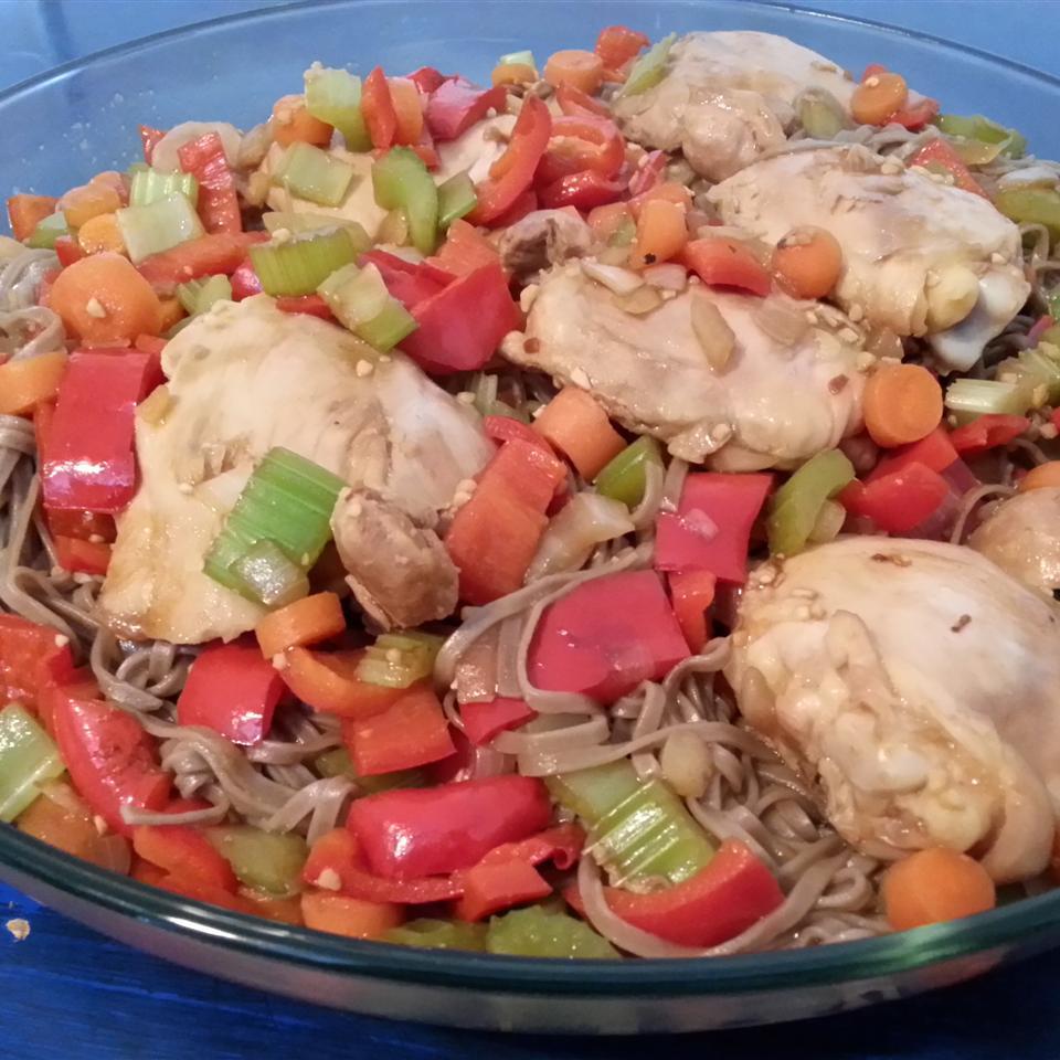 Thai Chicken Spaghetti tonia.st