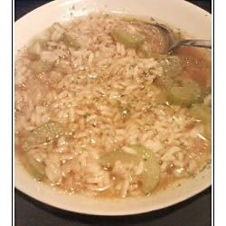 Simply Delicious Rice Soup valinutah