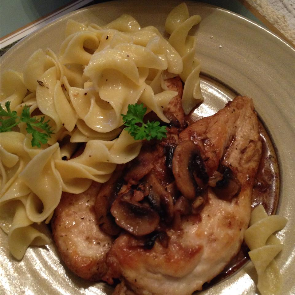 Chicken Breasts with Balsamic Vinegar and Garlic RealTime