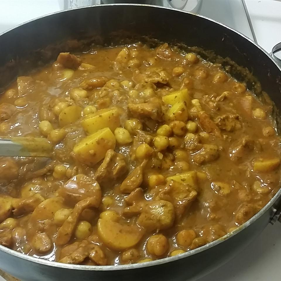 Chickpea and Chicken Curry Tee D.Mitch