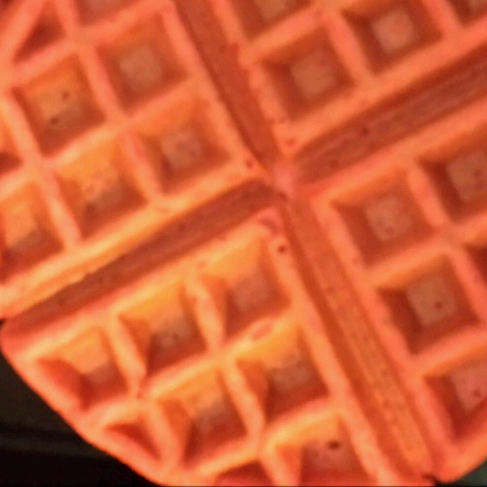 Red Velvet Belgian Waffles