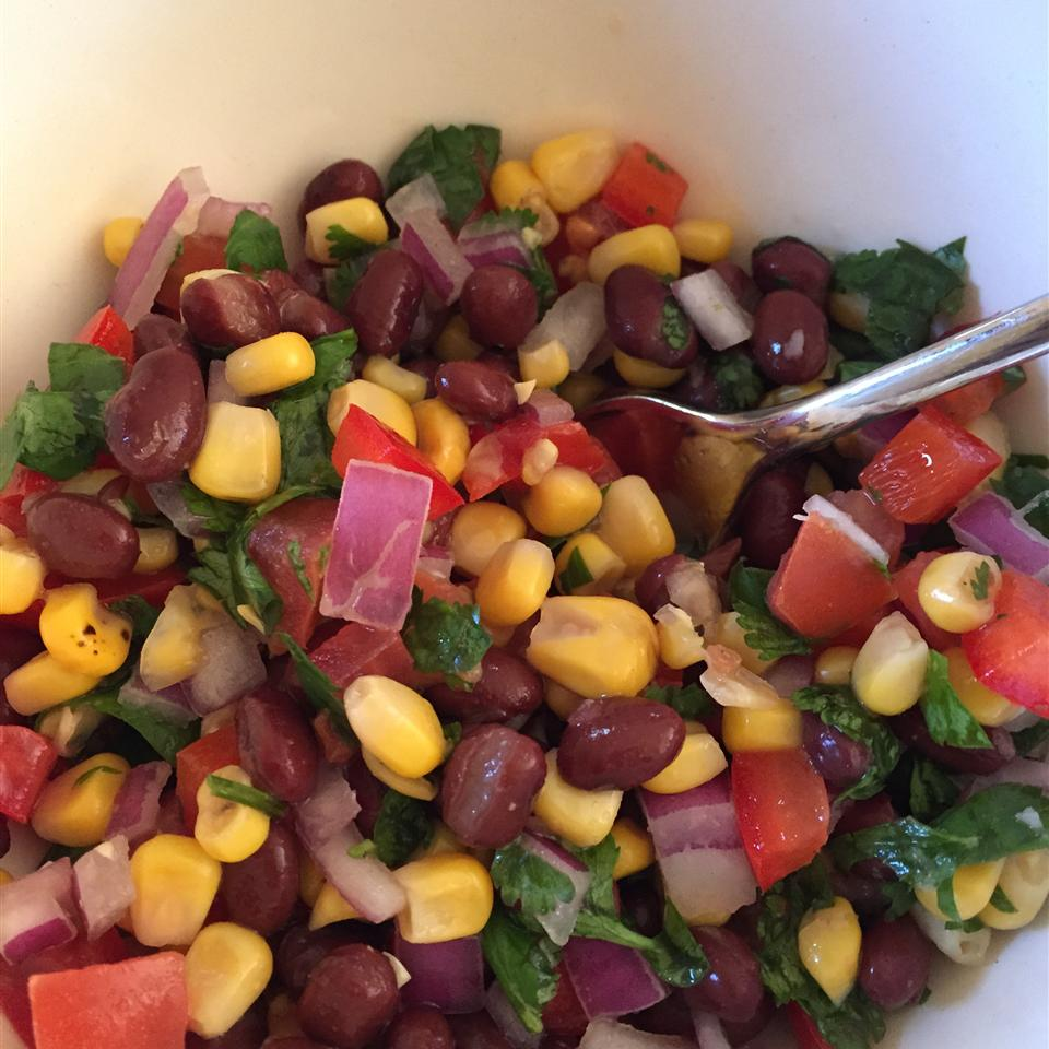 Black Bean and White Corn Salad Laura Corda