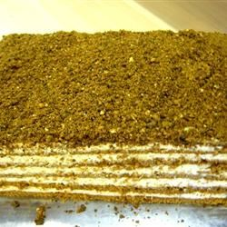 Latvian Honey Cake Sandra