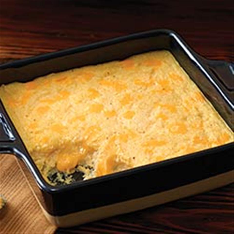 VELVEETA® Cheesy Baked Grits Trusted Brands