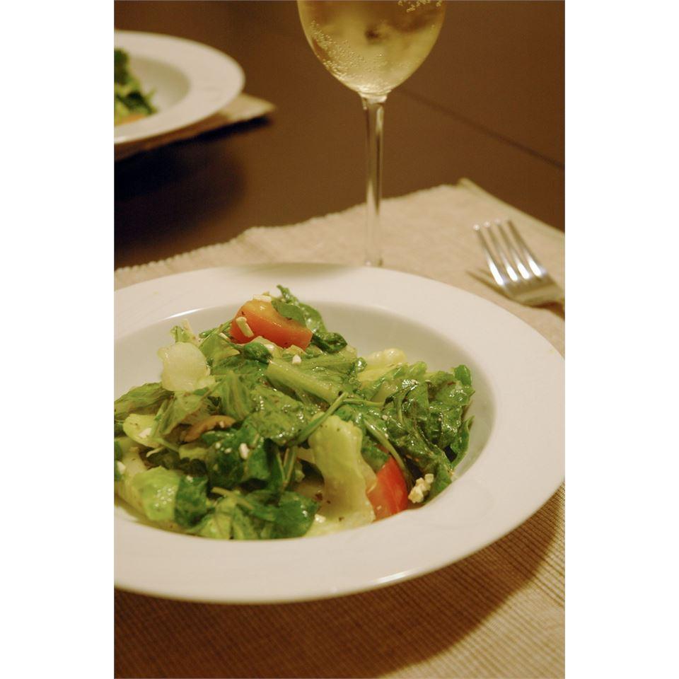 Greek Veggie Salad II LynnInHK