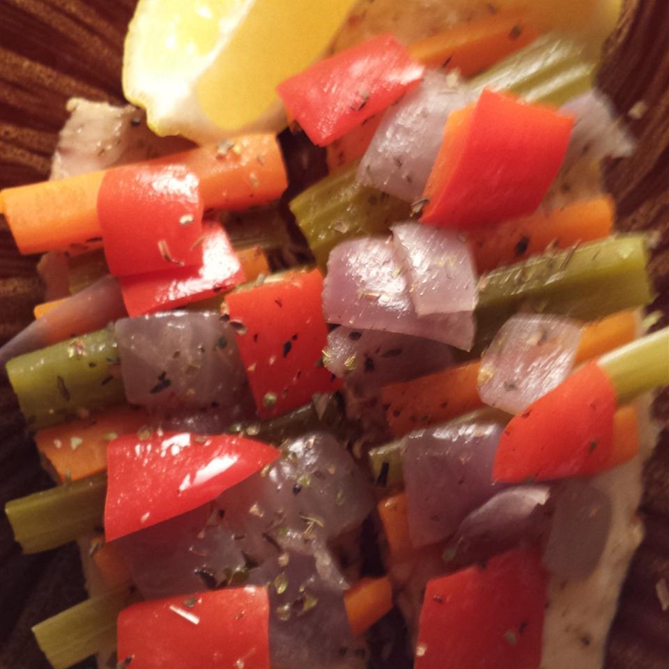 Vegetable Steamed Tilapia