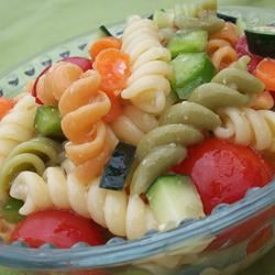 Garden Pasta Salad CookinBug
