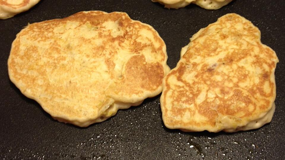 Grandma's Soul Food Pancakes (with Plantains)