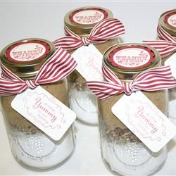 Butterscotch Brownies in a Jar Heather Medford