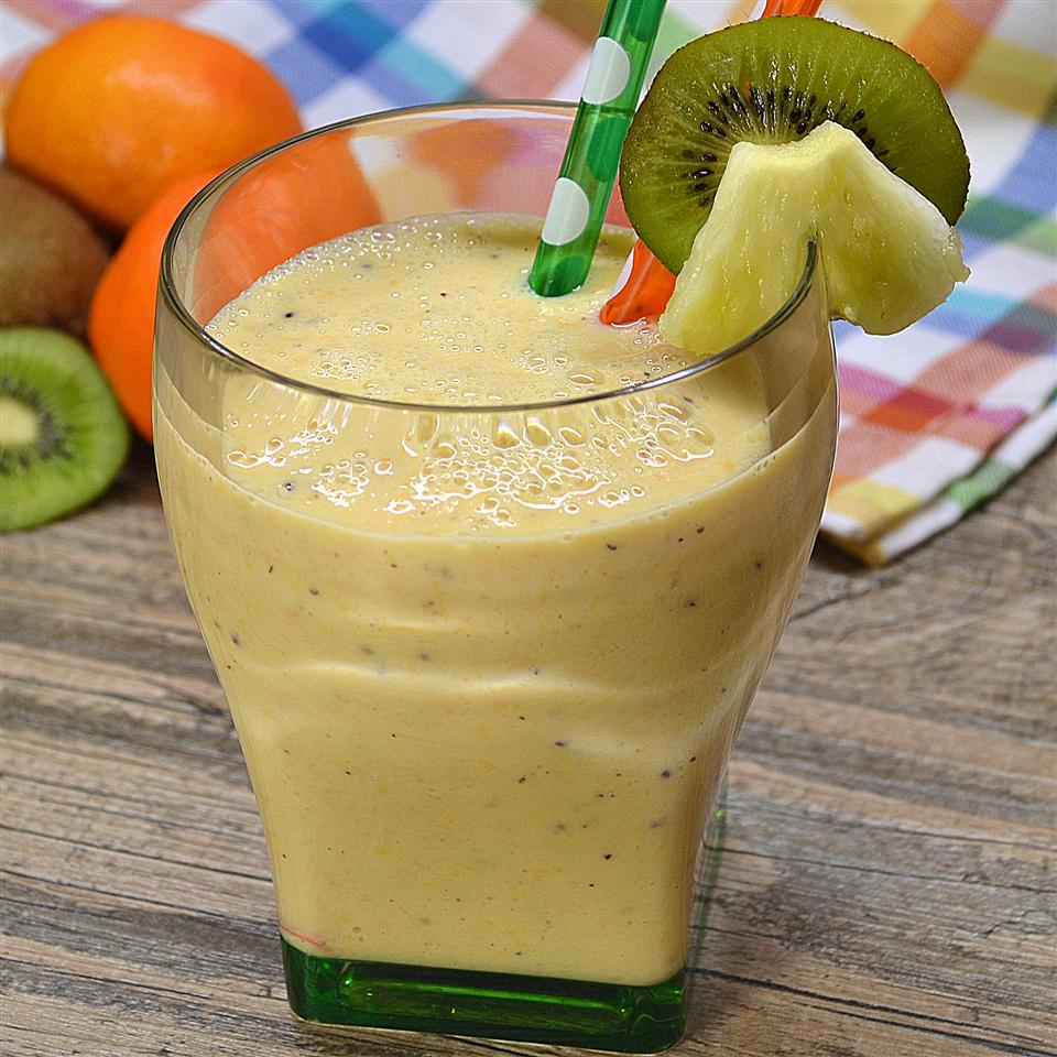 Crunchy Pineapple Smoothie