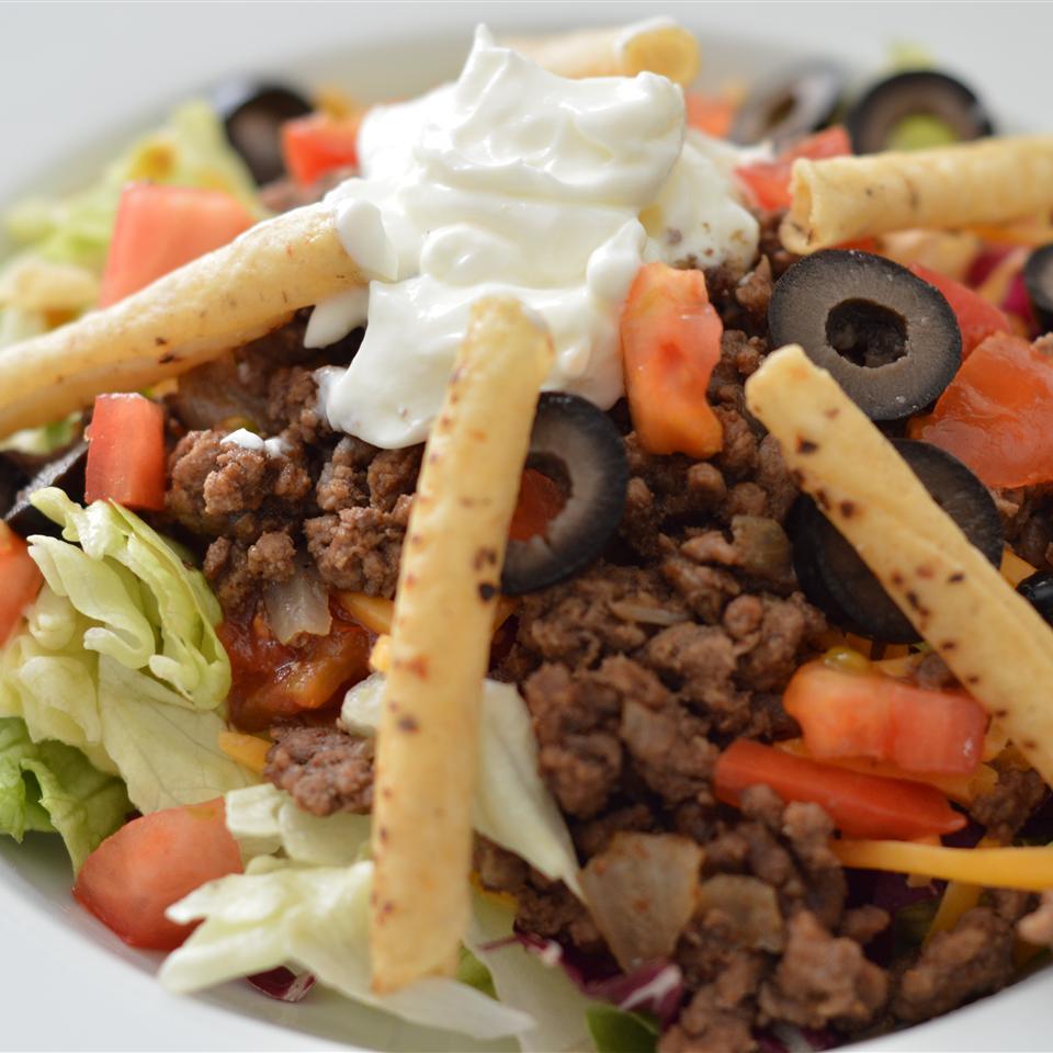Quick Taco Salad Holiday Baker