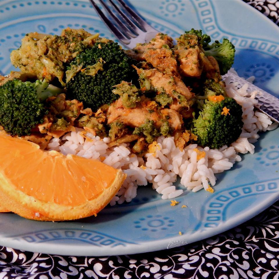 Orange Curry Chicken