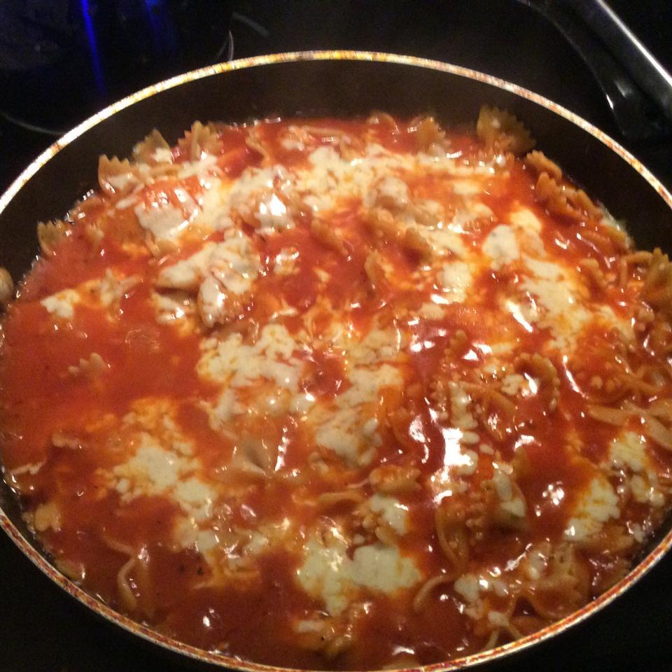 Mom's Mozzarella Chicken for Drew