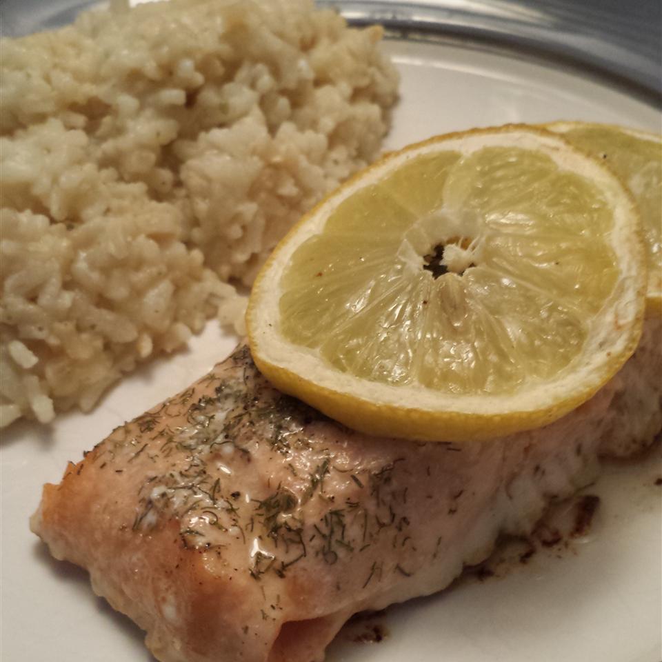 Salmon with Lemon and Dill Keith