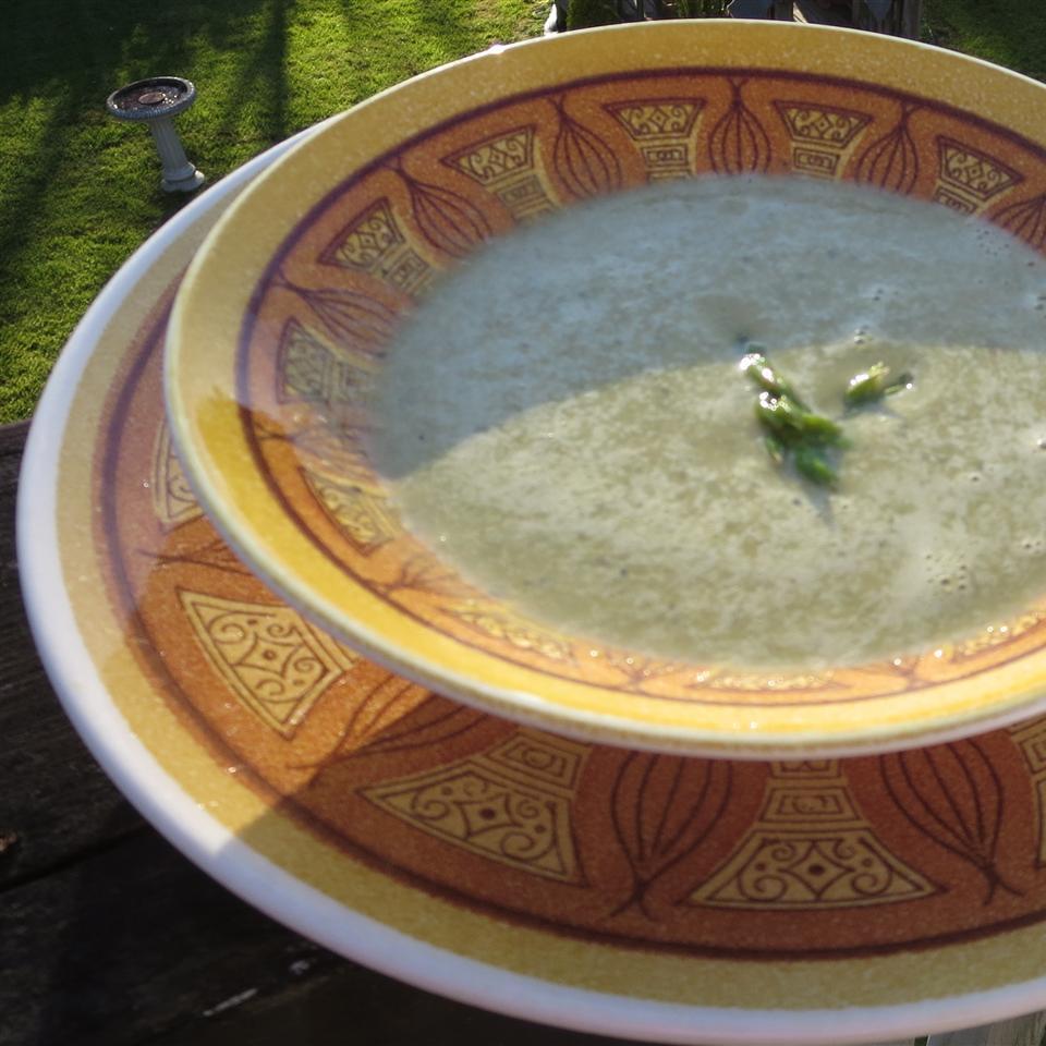 Quick and Easy Cream of Asparagus Soup Scott Sime