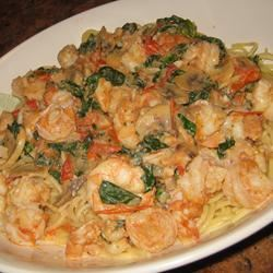 Exchange Gang Pasta with Shrimp