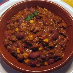 Smokin' Scovilles Turkey Chili Che-F-idel