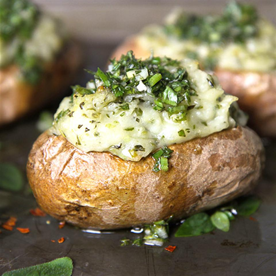 Chimichurri Twice-Baked Potatoes Trusted Brands