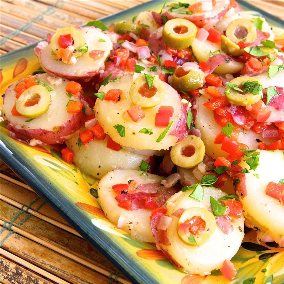 Savory Spanish Potato Salad