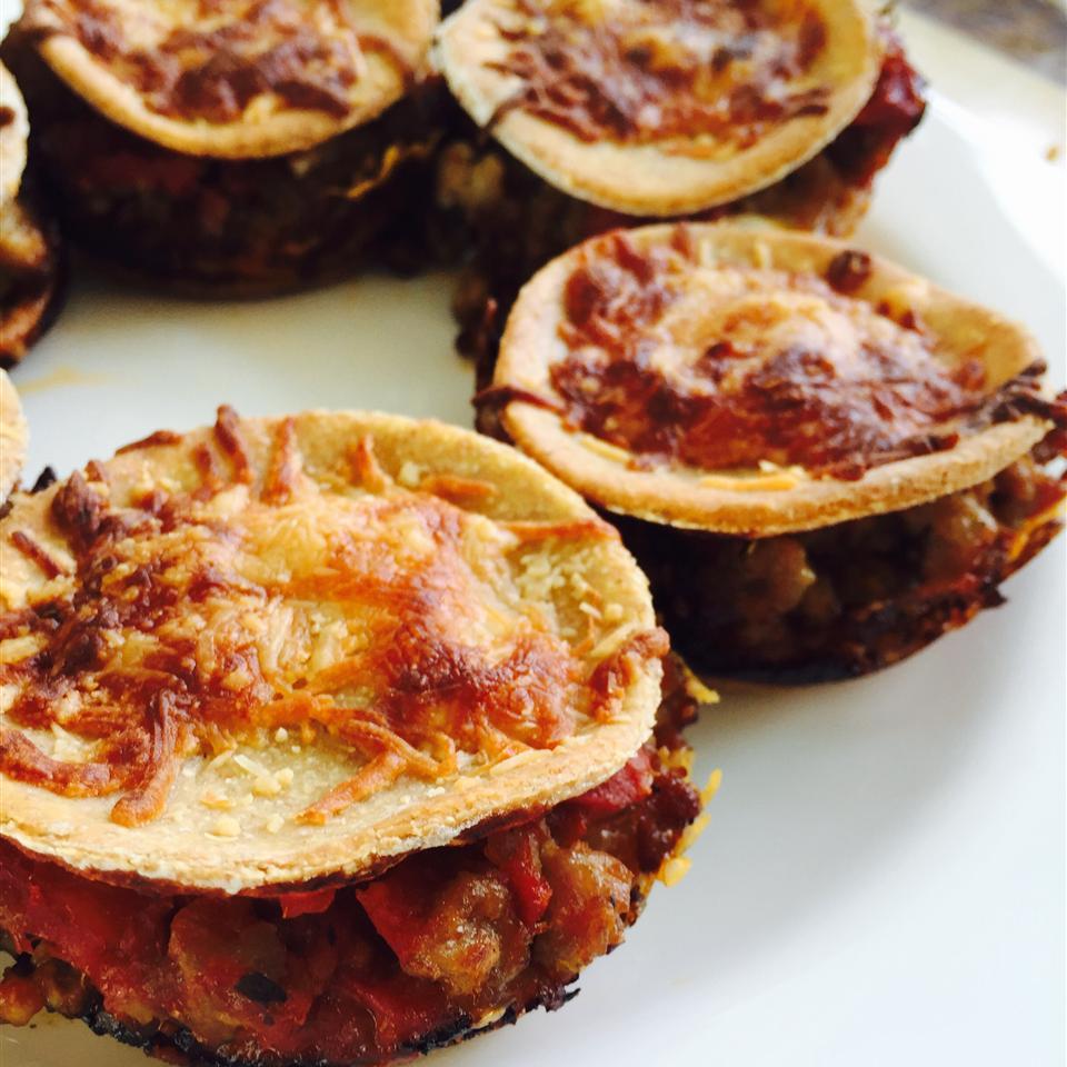 Lasagna Cupcakes Katie Mak