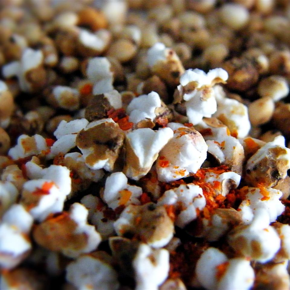 Spicy Popped Sorghum