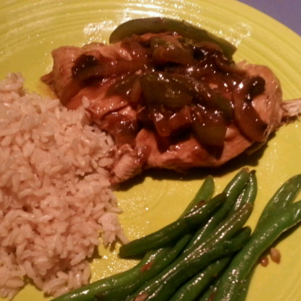 Chicken Pepper Steak allison
