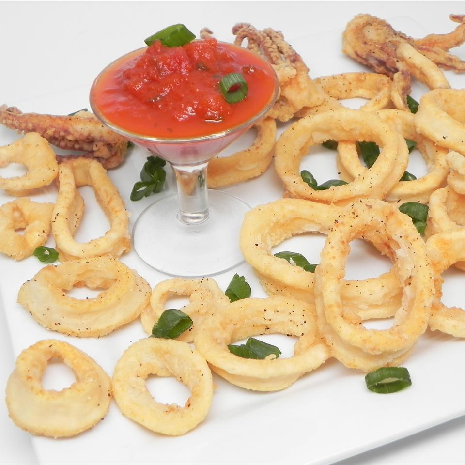 Deep-Fried Calamari Rings