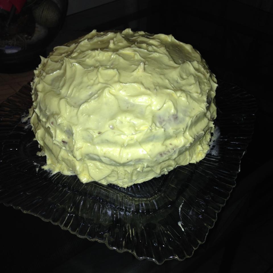 Lemon Cake with Lemon Filling and Lemon Butter Frosting Christy