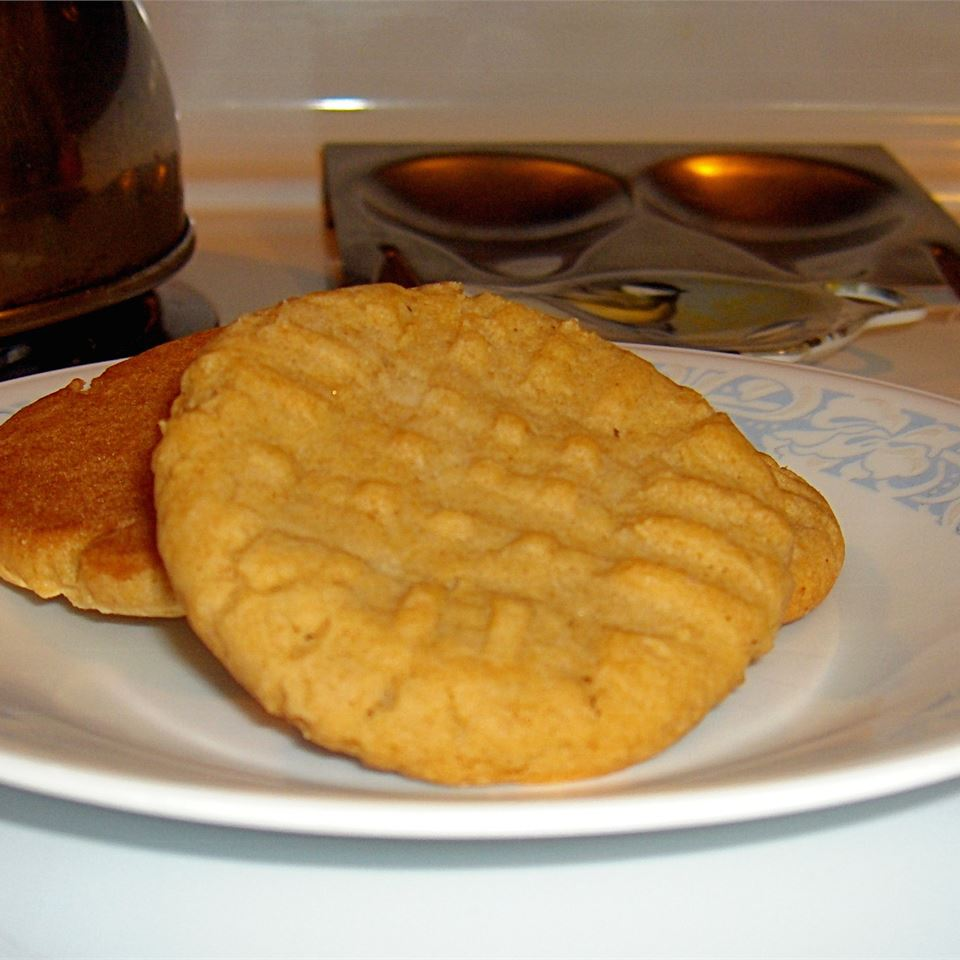 Chewy Peanut Butter Cookies Veronica
