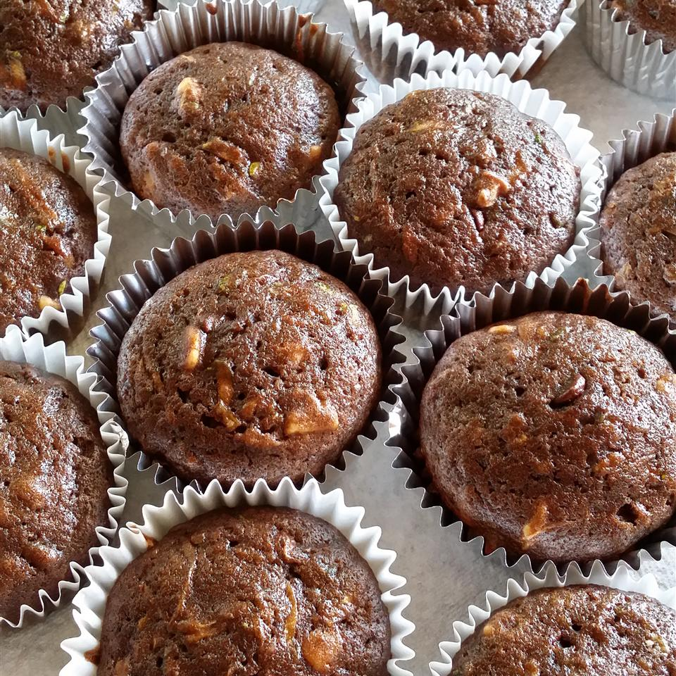 Chocolate-Zucchini Cupcakes Cookie