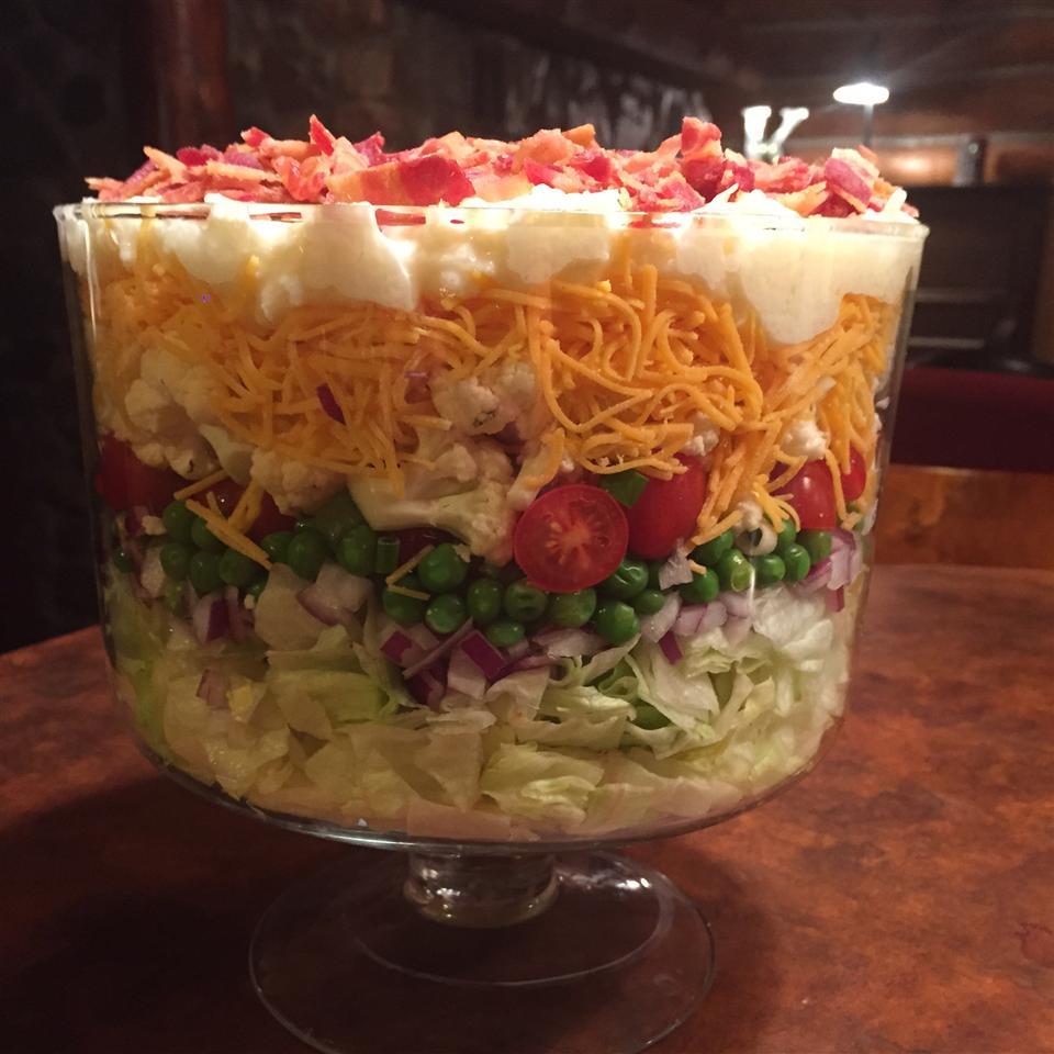 Seven Layer Salad Leah Mae