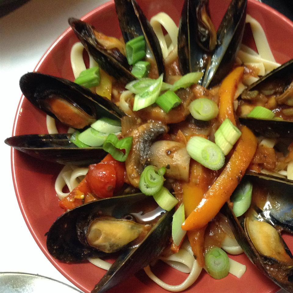 Mussels Provencal JohnChas Cardinal