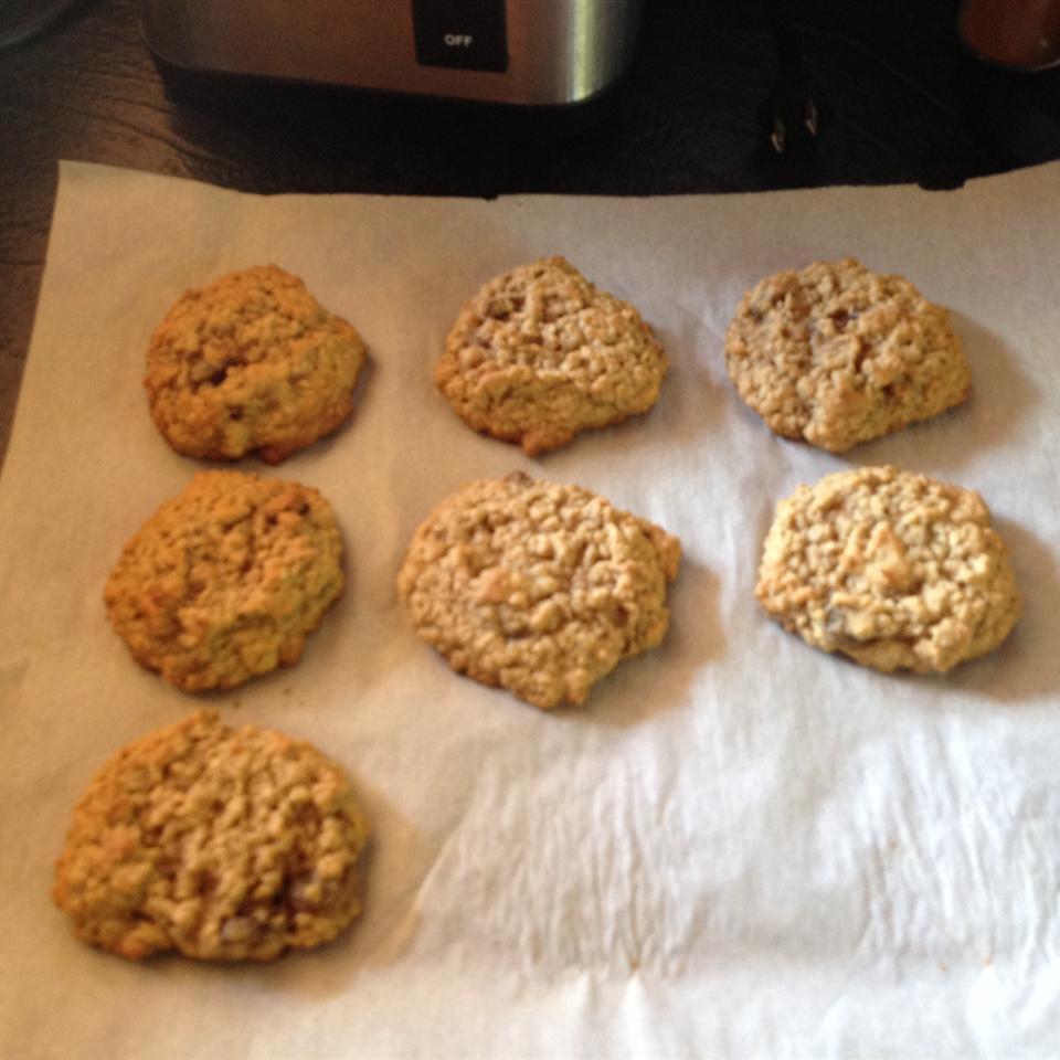 Oatmeal Banana Nut Cookies jane