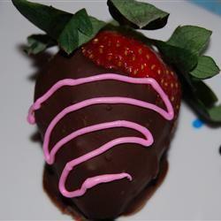 Chocolate Strawberries Diana