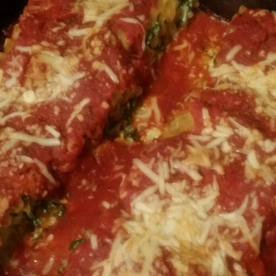Spinach Lasagna Rolls Chamaine Is Awesome