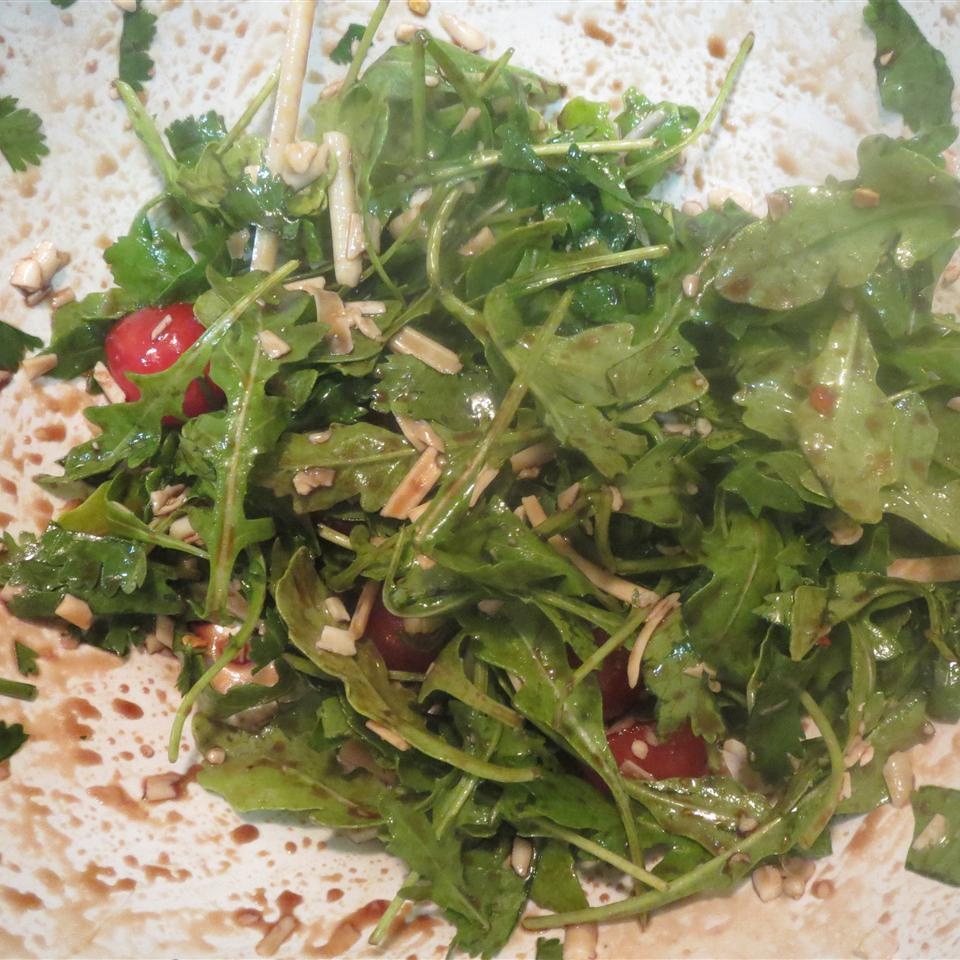 Wild Rocket (Arugula) and Parmesan Salad Lisa Phillips Kuchis
